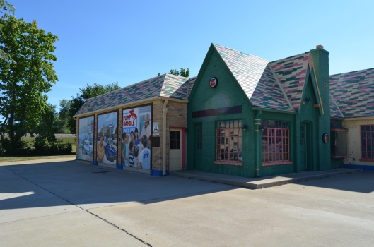 """Old Phillips 66 Service Station"""