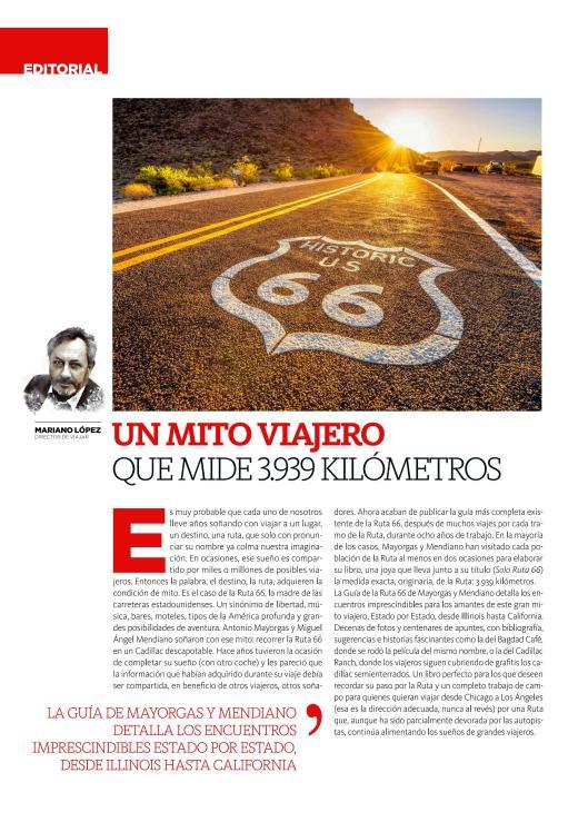 Editorial Revista Viajar